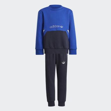 синий Комплект: джемпер и брюки adidas SPRT