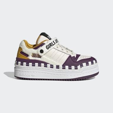 Frauen Originals Triple Platforum Lo Girls Are Awesome Schuh Weiß