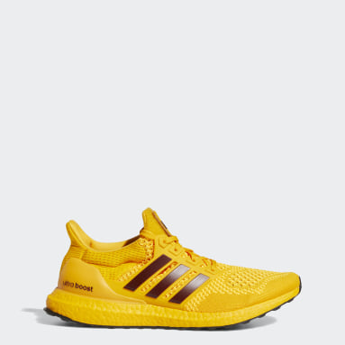Running Yellow Sun Devils Ultraboost 1.0 DNA Shoes