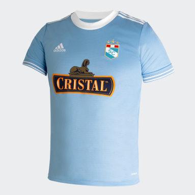 CAMISETA DE LOCAL Sporting Cristal 2021 Azul Hombre Fútbol