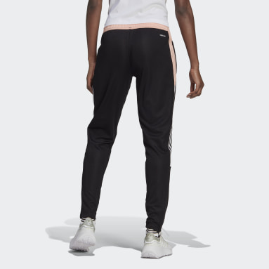 Women Soccer Black Tiro Track Pants
