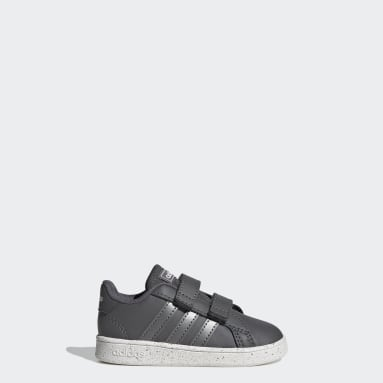 Infant & Toddler Essentials Grey Grand Court Shoes
