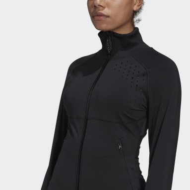 Women's adidas by Stella McCartney Black adidas by Stella McCartney TruePurpose Midlayer Jacket
