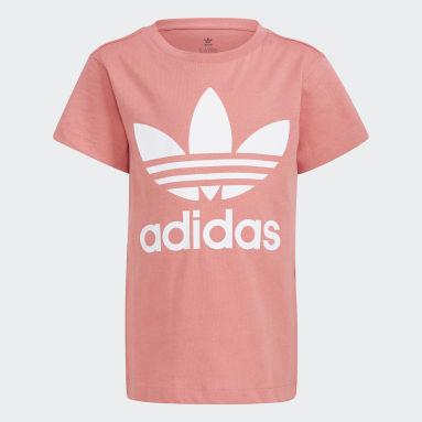 Çocuklar Originals Pembe Trefoil Tişört