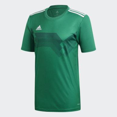Camiseta Campeón 19 Verde Hombre Fútbol
