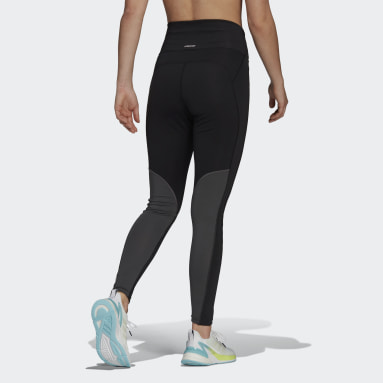 Calzas Designed 2 Move AEROREADY Tiro Alto Negro Mujer Training