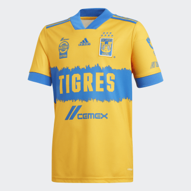 Youth Soccer Yellow Tigres UANL 20/21 Home Jersey