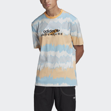 T-shirt adidas Adventure Archive Printed Orange Hommes Originals