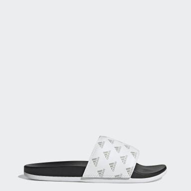 Chinelos Adilette Comfort Branco Sportswear