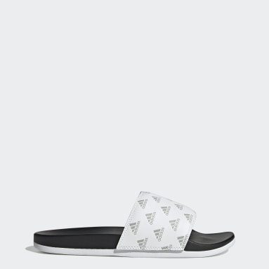 Ciabatte adilette Comfort Bianco Sportswear