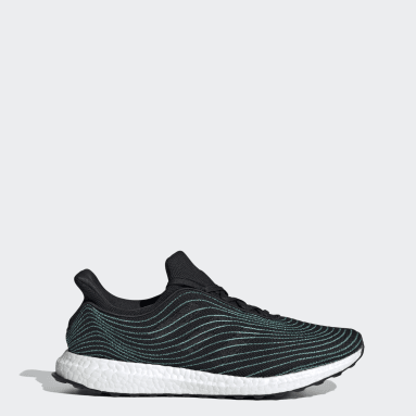 Running Black Ultraboost DNA Parley Shoes