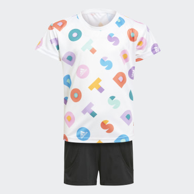 Girls Training White adidas x LEGO® DOTS™ Set