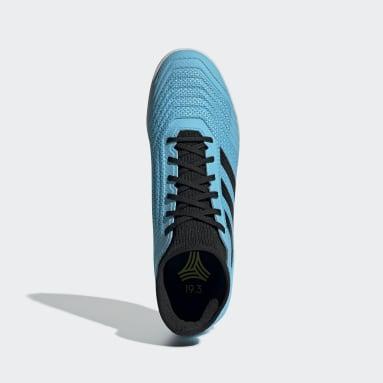 Calzado de Fútbol Predator Tango 19.3 Bajo Techo Turquesa Hombre Fútbol