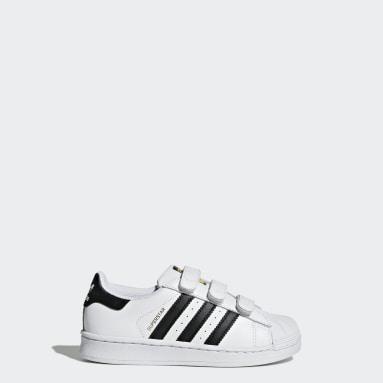 Children Originals White Superstar Foundation Shoes