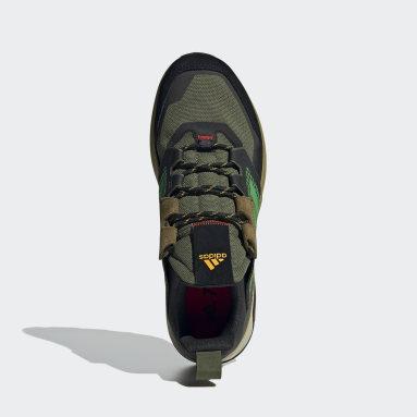TERREX Green Terrex Trailmaker Blue Hiking Shoes