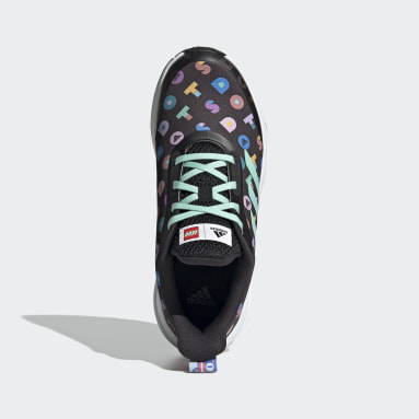Youth Running Black adidas FortaRun x LEGO® DOTS™ Shoes
