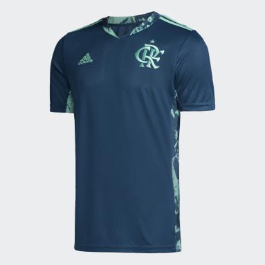 Camisa Goleiro CR Flamengo 1 Azul Homem Futebol