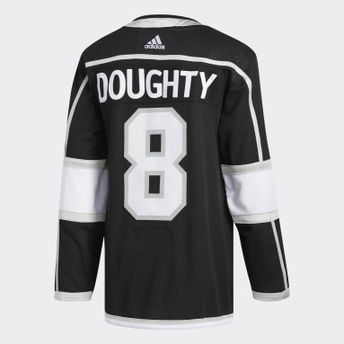 Maillot Kings Doughtly Domicile Authentic Pro noir Hommes Hockey