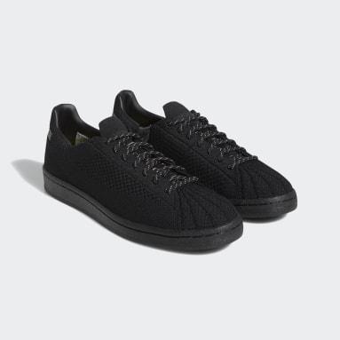 Originals Black Pharrell Williams Superstar Primeknit Shoes