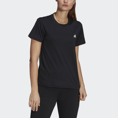 Remera AEROREADY Designed 2 Move Sport Negro Mujer Training