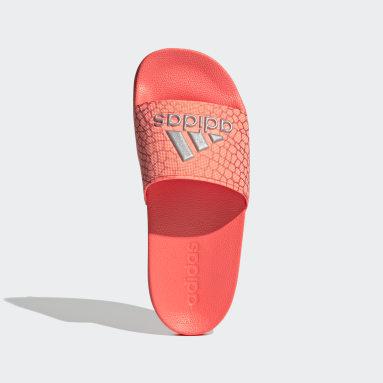 Children Yoga Pink Adilette Shower Slides
