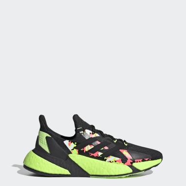 Men Running Black X9000L4 Shoes