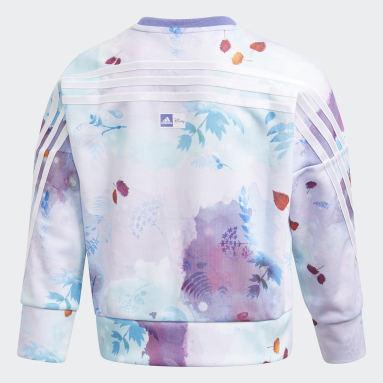 Meisjes Fitness En Training Paars Disney Frozen Sweatshirt
