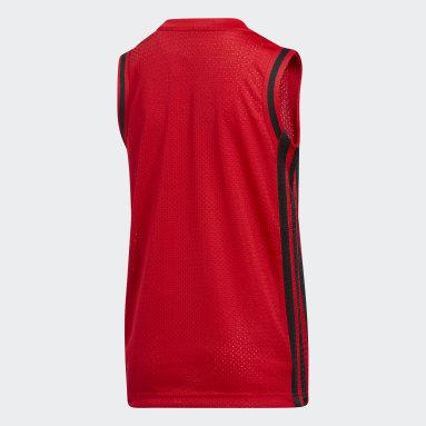 Camiseta sin mangas Young Creators Legend Basketball Rojo Niño Baloncesto