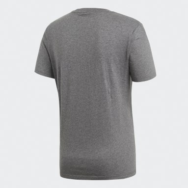 Men Gym & Training Grey Core 18 T-Shirt