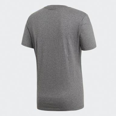 Muži Cvičení A Trénink šedá Tričko Core 18