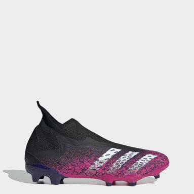 Predator Freak.3 Laceless Firm Ground Fotballsko Svart