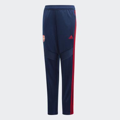 Kids Football Blue Arsenal Training Pants