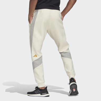 Men Sportswear White The Winter Heavy Fleece Pants