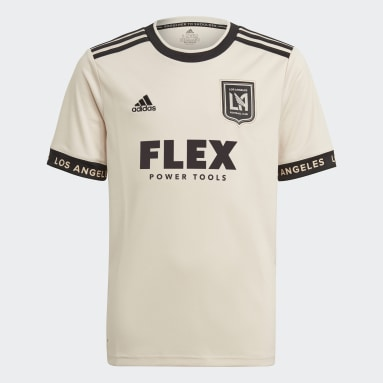 Youth Soccer White Los Angeles FC 21/22 Away Jersey