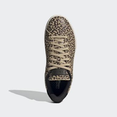 Zapatillas Advantage Beige Mujer Diseño Deportivo