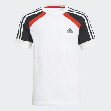 Youth Training White Comfort Colorblock Tee