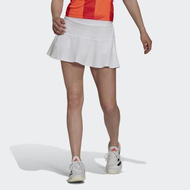 Women's Tennis White Tennis Primeblue Tokyo HEAT.RDY Match Skirt