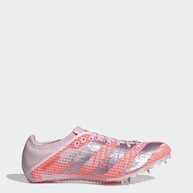 Frauen Leichtathletik Sprintstar Spike-Schuh Rosa