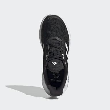 Zapatilla EQ21 Run Negro Niño Running
