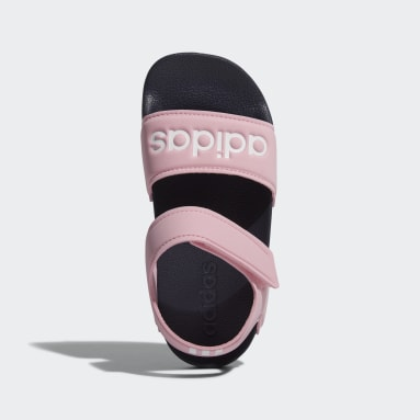 Kids Swimming Pink Adilette Sandals