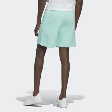 Men Originals Turquoise Trefoil Essentials Shorts