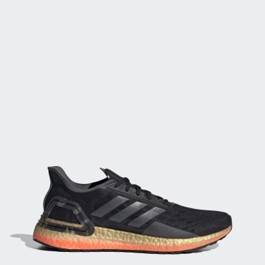 Men Running Black Ultraboost PB Shoes
