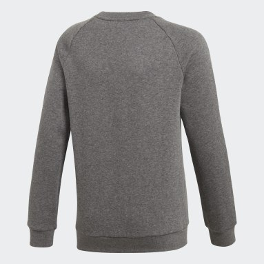 Kids Gym & Training Grey Core 18 Sweatshirt