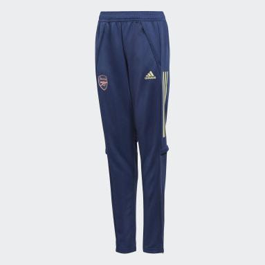 Børn Fodbold Blå Arsenal træningsbukser