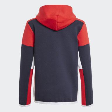 Veste à capuche Z.N.E. Full-Zip Bleu Garçons Sportswear