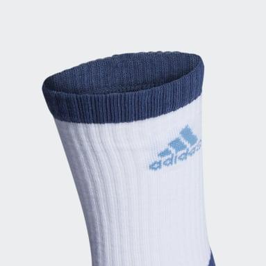 TIRO 3S SOCKS Azul Fútbol