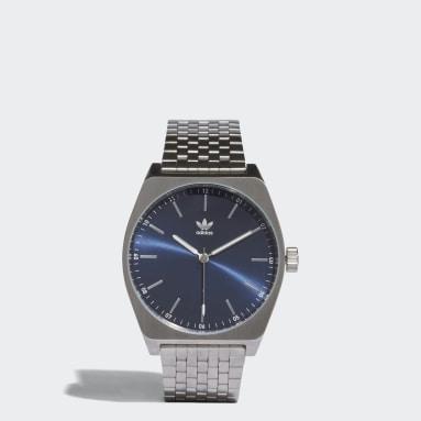 Originals PROCESS_M1 Uhr Silber