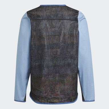 Men Originals Blue FA Fishing Jacket