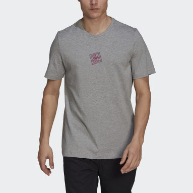 Camiseta Five Ten Heritage Logo Gris Hombre Five Ten