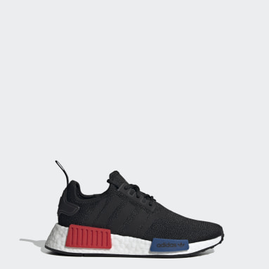 Youth 8-16 Years Originals Black NMD_R1 Refined Shoes
